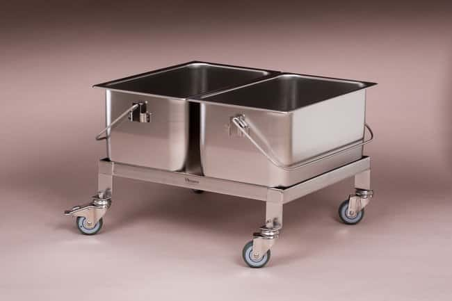 Micronova™ Stainless Steel Compact Cart and Bucket System