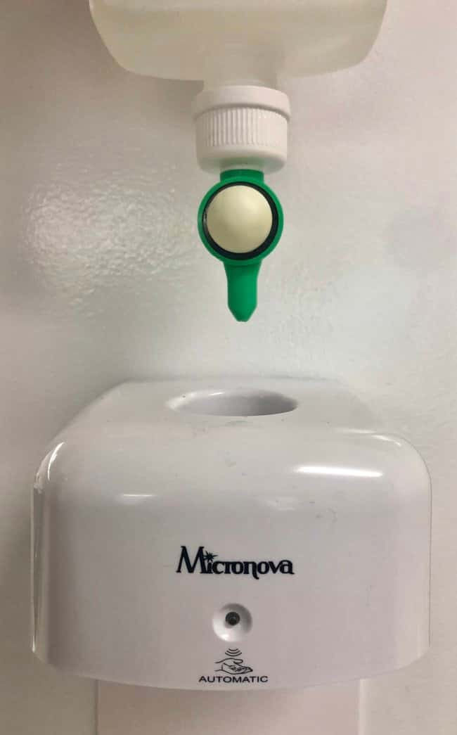 Micronova™ M-Zone™ MicroDispenser™ Touch-Free Soap Dispenser: Handcare, Soaps, and Sanitisers Wipes, Towels and Cleaning
