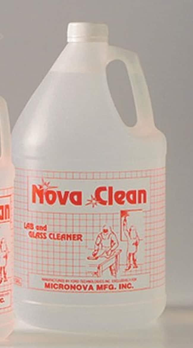 Micronova™NovaClean™ Lab & Glass Cleaner NovaClean Lab & Glass Cleanroom Detergent, low ionic surfactant, 1 qt. Micronova™NovaClean™ Lab & Glass Cleaner