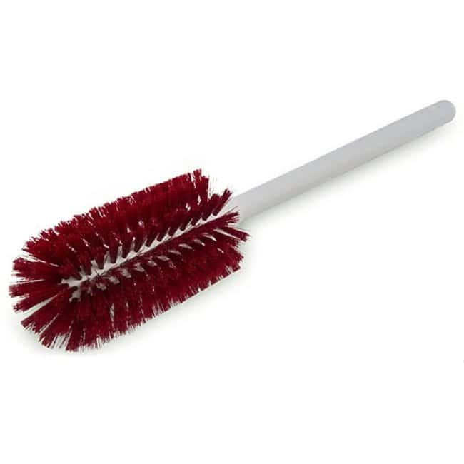 Micronova™ M-Zone™ Bottle Brushes Bottle Brush, bpa-free, polyester bristles, 16 in. plastic handle, 3.25 in. dia, red Micronova™ M-Zone™ Bottle Brushes