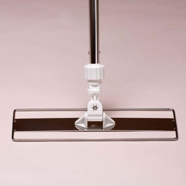 Micronova™SlimLine™ Cleanroom Mop Adapters SlimLine, Stainless Steel Mop Adapter, 360 swivel, use w QD SSU handles, 18 in. Micronova™SlimLine™ Cleanroom Mop Adapters