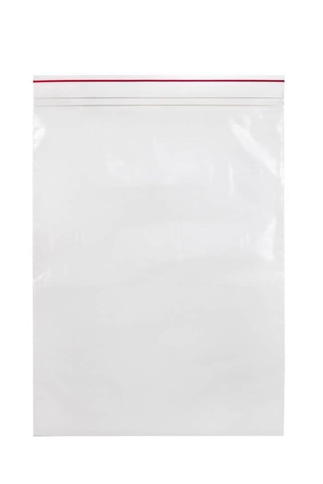 Minigrip Premium Red Line Reclosable Zipper Bags Dimensions: 10 x 13 in.:Testing