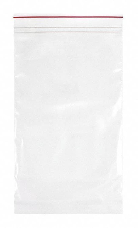 Minigrip Premium Red Line Reclosable Zipper Bags Dimensions: 6 x 10 in.:Testing