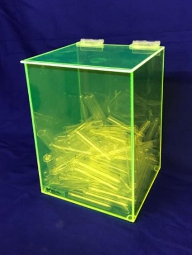 Mitchell PlasticsHeavy Duty Bulk Dispenser Color: Neon green:Facility Safety