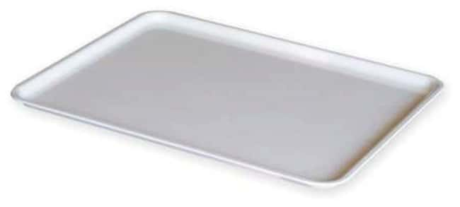 MFG Tray Lid for Nesting Containers White; 12.4L x 9.75 in. W:Gloves, Glasses