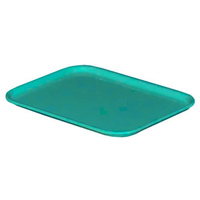 MFG Tray Lid for Nesting Containers Green; 9.75L x 6.1 in. W:Gloves, Glasses