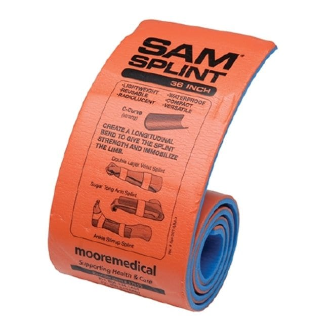 Moore Medical MooreBrand SAM Padded Splints:First Responder Products:First