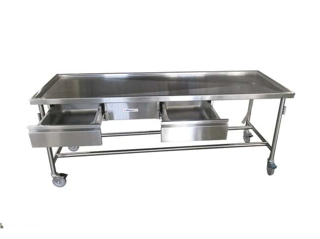 MopecRecessed Dissection Table with Drawers WidthMetric: 76.2cm:Furniture