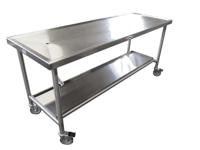 Mopec Creased Standard Anatomy Dissection Table  WidthMetric: 76.2cm:Furniture,