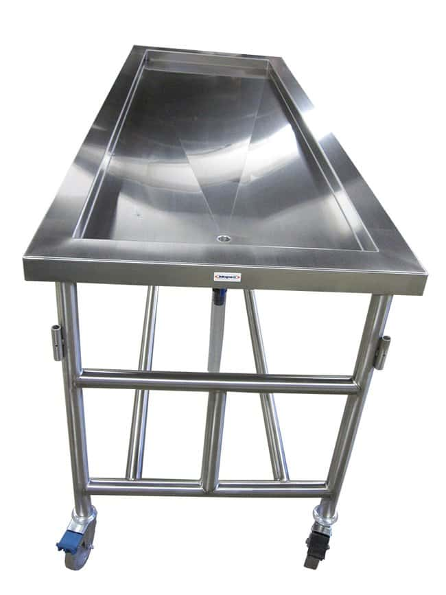 Mopec Recessed Dissection Table without Drawers  WidthMetric: 76.2cm:Furniture,