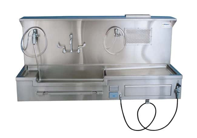 Mopec Left Approach Wall Mount Autopsy Sink  WidthMetricOverall: 213.36cm:Diagnostic