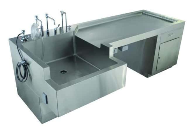 Mopec Autopsy Table Sink Service with Cabinet  ProductLine: Autopsy Tables:Diagnostic