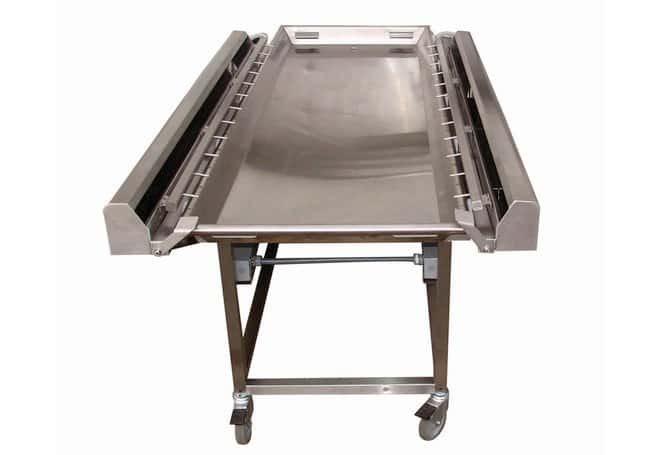 Mopec Embalming Cart with 27 Inch Tray  DepthMetricOverall: 200.66cm:Diagnostic