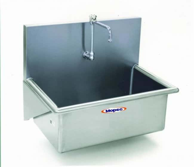 Mopec Single Faucet Autopsy Scrub Sink  HeightMetricOverall: 58.5cm:Diagnostic