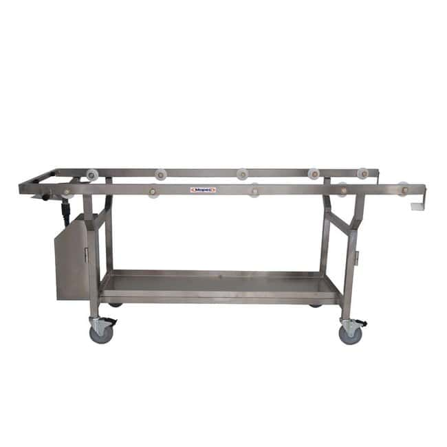 Mopec Roller Autopsy Cart with Fluid Collection System and Chassis Only