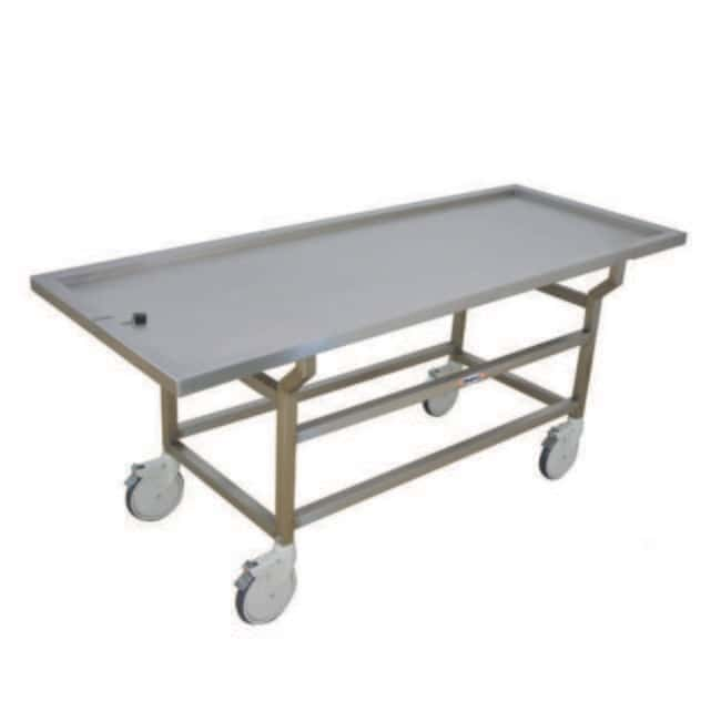 Mopec DA Series Autopsy Cart with Standard Stainless Steel Top  LengthMetric: