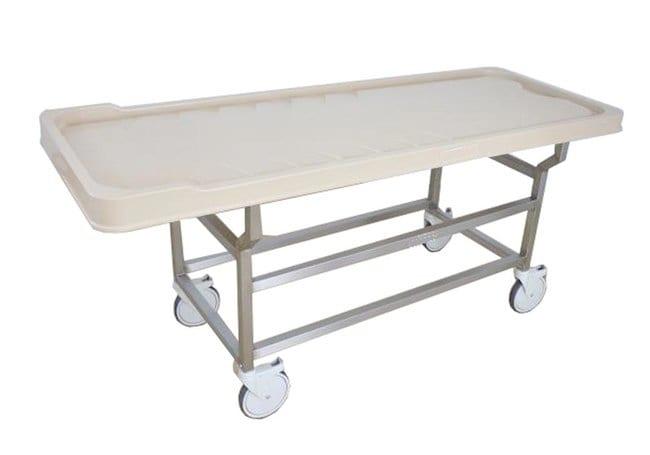 Mopec DA Series Autopsy Cart with Plastic X-Ray Top  LengthMetric: 204.47cm:Diagnostic
