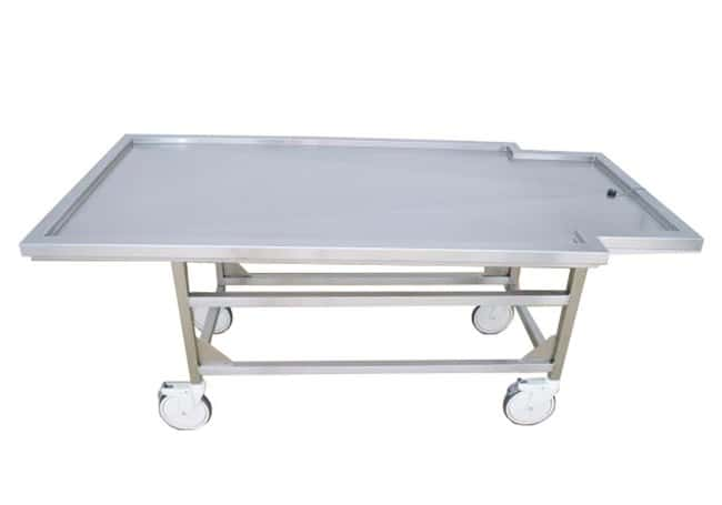 Mopec Non-Tilting Bariatric Autopsy Cart  LengthMetric: 204.47cm:Diagnostic