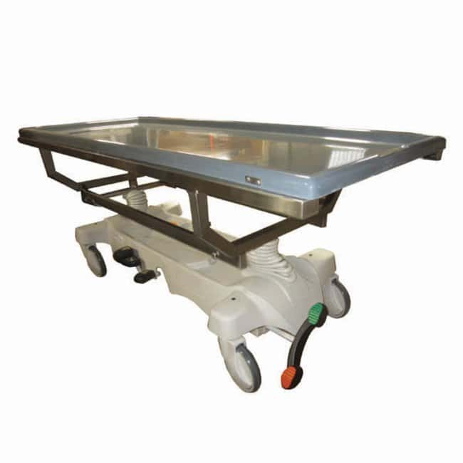 Mopec Hydraulic Dissection Cart with Fiberglass X-Ray Top  LengthMetric:
