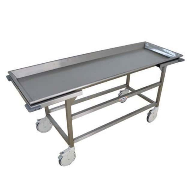 Mopec Saddle Autopsy Cart with Various Tray Sizes  WidthMetric: 65.4cm:Diagnostic