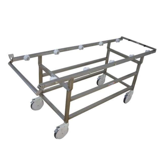 Mopec DE401 Roller Autopsy Cart  HeightMetric: 88.9cm:Diagnostic Tests