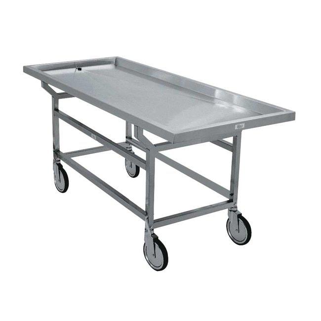 Mopec Removable Grid Plate Autopsy Cart  HeightMetric: 92.71cm:Diagnostic