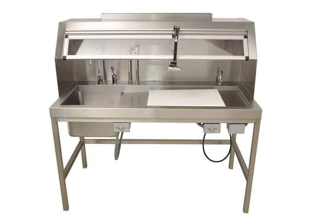 Mopec HC150 Dissection Table with Left Sink  HeightMetric: 93.98cm:Furniture,