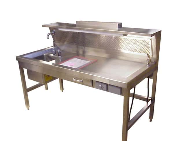Mopec HC350 Dissection Table with Left Sink  HeightMetric: 93.98cm:Furniture,