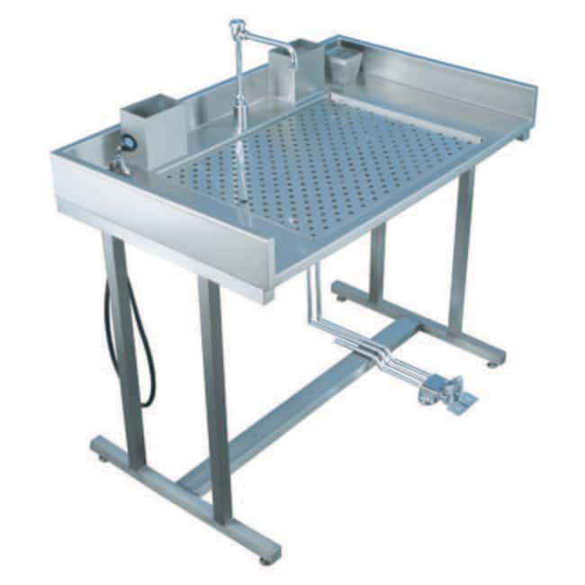 Mopec Grossing Station Standing Dissection Table  HeightMetric: 93.98cm:Diagnostic
