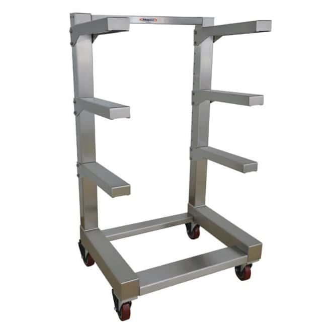 Mopec IB Series Portable Cantilever Storage Rack  Tiers: 4:Diagnostic Tests