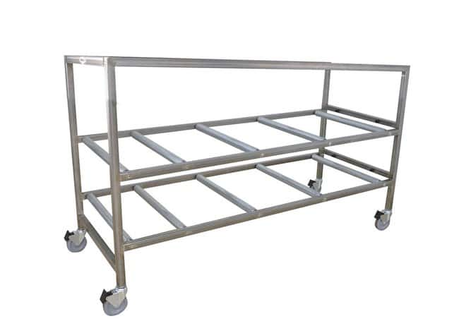 Mopec Portable Cremation Storage Rack with Two Tier  DepthMetric: 207.01cm:Diagnostic
