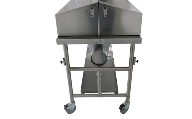 MopecCovered Dissection Table with Lid Assist and Ventilation