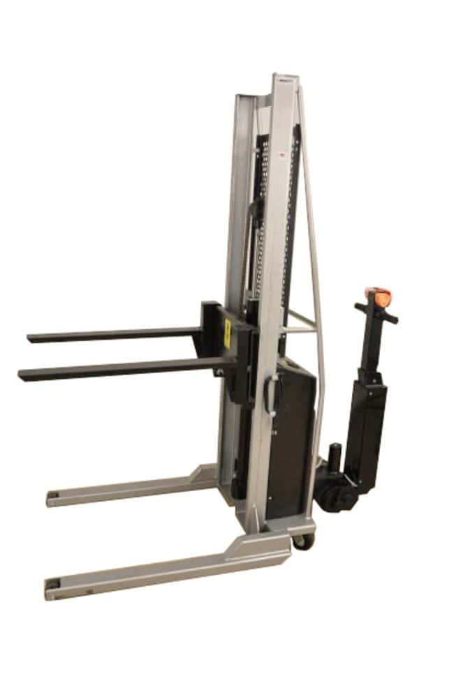 Mopec Battery Powered Hydraulic Fork Lift with Hand Control  LengthMetric: