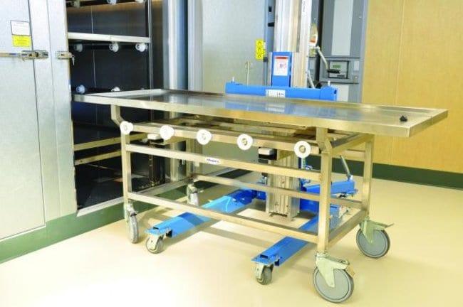 Mopec JD420 Roller Pallet Lift  LengthMetric: 121.92cm:Diagnostic Tests