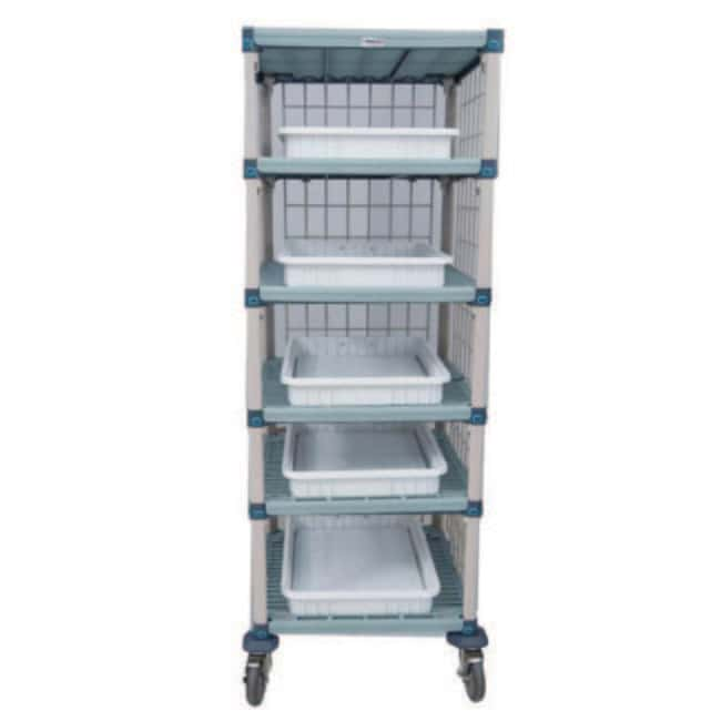 Mopec Portable Shelving System  Tiers: 5:Diagnostic Tests and Clinical
