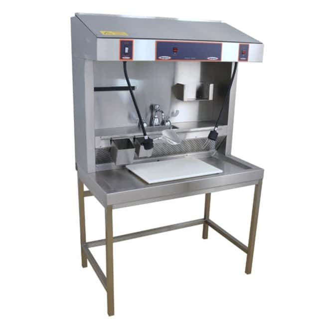Mopec MB100 Cup Sink Grossing Station Countertop  HeightMetric: 116cm:Diagnostic