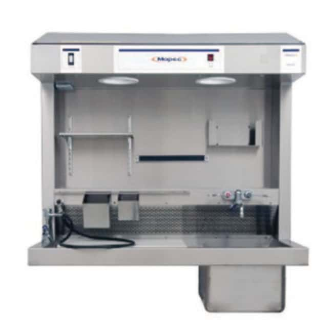 Mopec MB200 Large Sink Countertop Grossing Station  HeightMetric: 115.6cm:Diagnostic