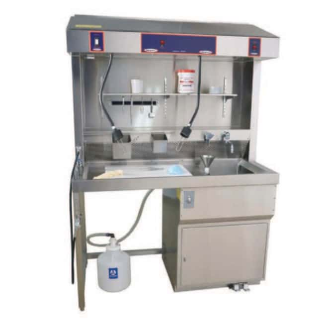 Mopec MB400 Free Standing Large Sink Grossing Station  HeightMetric: 200.1cm:Diagnostic