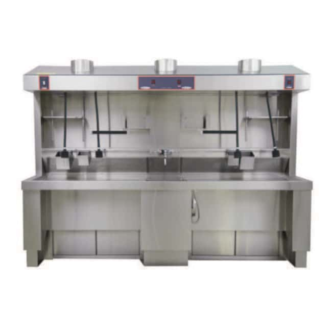 Mopec MB670 Elevating Shared Sink Grossing Station  HeightMetric: 179.07cm:Diagnostic