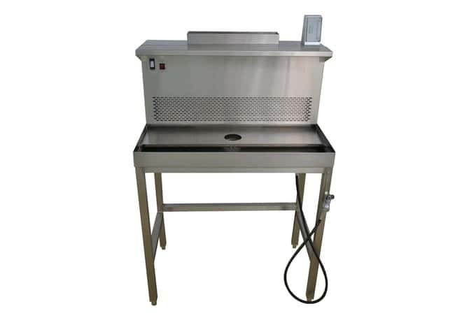 Mopec Trimming Station with In House Ventilation  HeightMetric: 134.62cm:Diagnostic