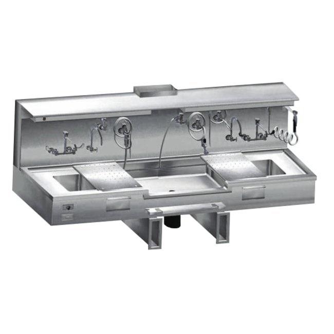 Mopec Center Approach Embalming Sink  WidthMetricSink: 50.8cm:Diagnostic
