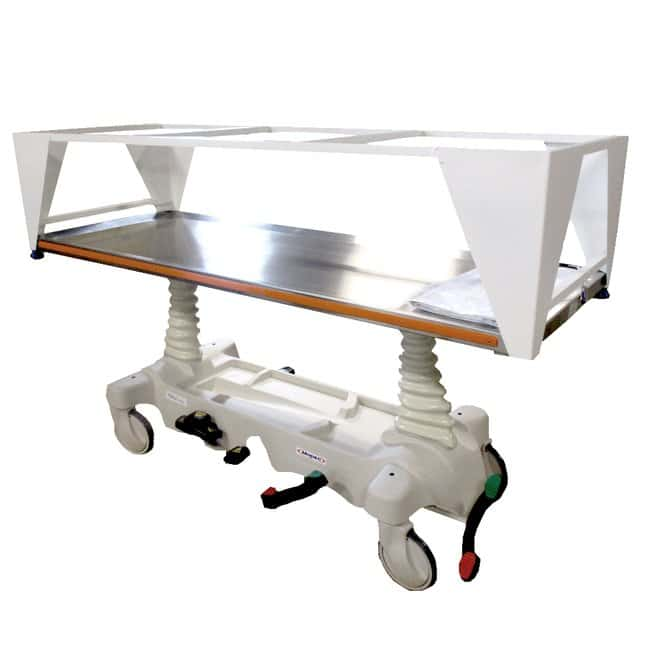 Mopec JA600 Hydraulic Cadaver Carrier  DepthMetric: 205.74cm:Diagnostic