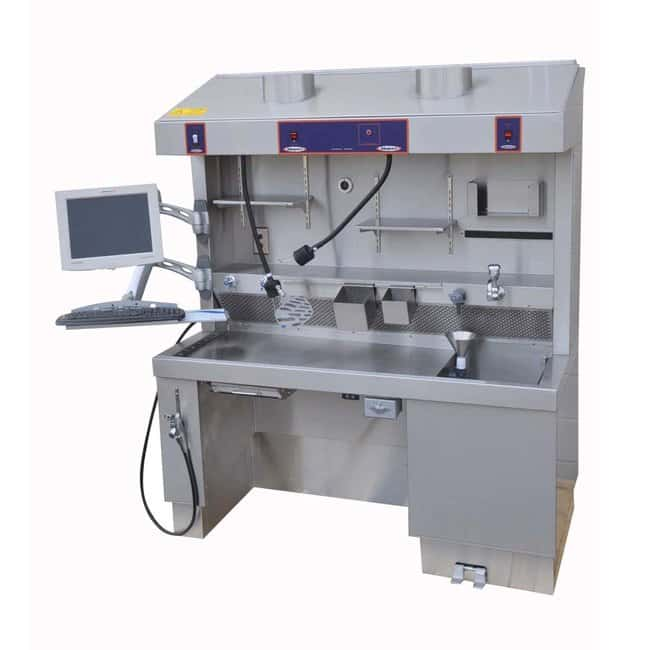 Mopec MB650 Elevating Grossing Station with Additional Knee Space  WidthMetric: