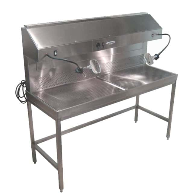 Mopec Multipurpose Dual Draft Grossing Station  Description: Plumbing included:Diagnostic