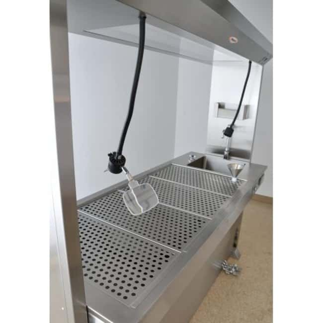 Mopec MK100 Elevating Grossing Station with Bridge  HeightMetric: 81.3