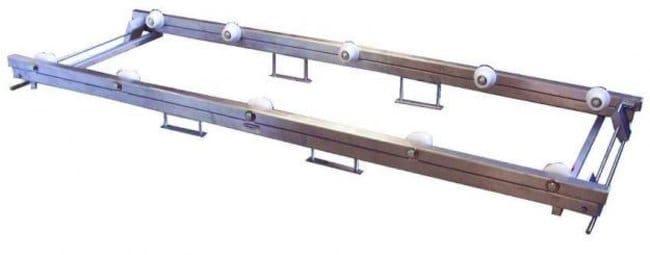 Mopec JD400 Roller Pallet Lift  LengthMetric: 203cm:Diagnostic Tests and