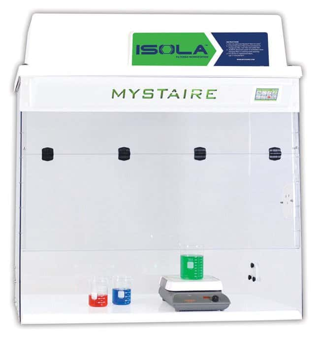 MystaireIsola Vue Filtered Workstation:Laboratory Ventilation:Enclosures