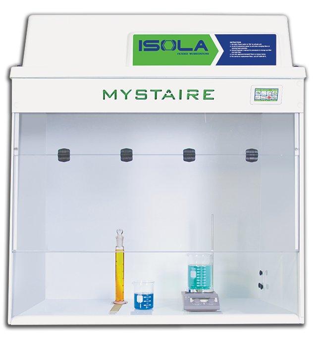 MystaireIsola Pro Filtered Workstation:Laboratory Ventilation:Enclosures