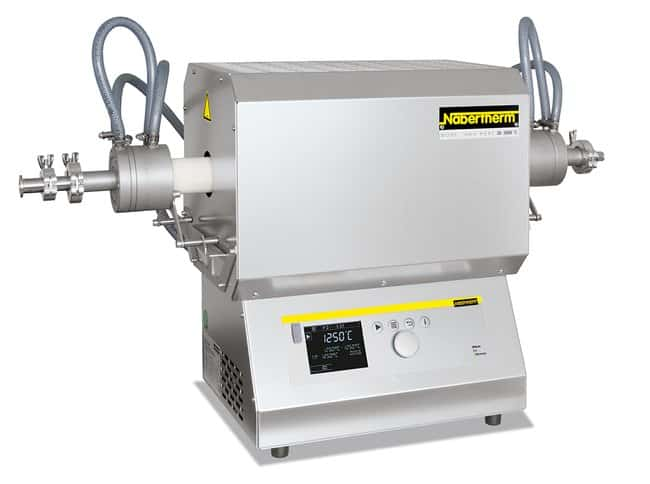 Nabertherm™ Tube Furnace with B410 Controller Temperature Range (Metric): Max. 1200°C; Width Metric: 434mm Nabertherm™ Tube Furnace with B410 Controller