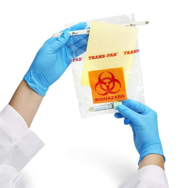 Nasco Whirl-Pak Trans-Pak Non-Sterile Specimen Sample Bag Specimen bag